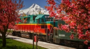 The Magical Polar Express Train Ride Near Portland Everyone Should Experience At Least Once