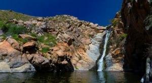 The Beautiful Waterfall In Southern California You Can Actually Swim In