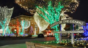 12 Christmas Light Displays In Arkansas That Are Pure Magic