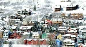 The One Town In Utah That Turns Into A Winter Wonderland Each Year