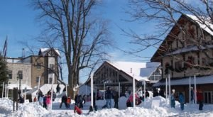 Gaylord Turns Into A Winter Wonderland Each Year In Michigan
