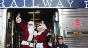 Enjoy A Magical Polar Express Train Ride Aboard The Santa Train In Virginia