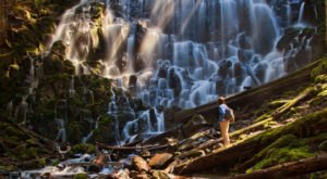 The Hidden Waterfall Hike That's Perfect For The Adventurous Oregonian