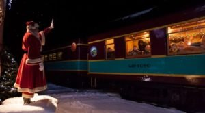 Enjoy A Magical Polar Express Train Ride Aboard Batesville Christmas Train In Mississippi