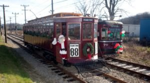 Board This Christmas Trolley In Pennsylvania For The Ultimate Holiday Cheer