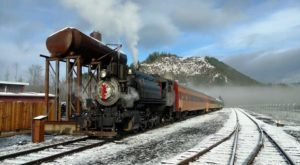 Enjoy A Magical Polar Express Train Ride Aboard Mt. Rainier Railroad In Washington