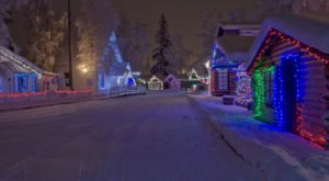 Here Are The 11 Most Enchanting, Magical Christmas Towns In Alaska