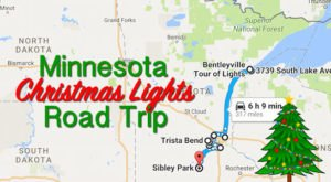 The Christmas Lights Road Trip Through Minnesota That's Nothing Short Of Magical
