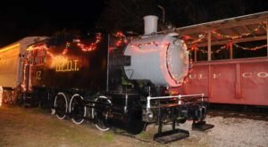 Enjoy A Magical Polar Express Train Ride Aboard The North Pole Express In Florida