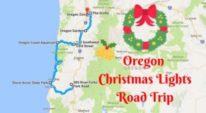 The Christmas Lights Road Trip Through Oregon That Will Take You To 9 Magical Displays