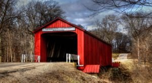 9 Beautiful Covered Bridges In Illinois That Remind Us Of A Simpler Time