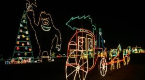 11 Christmas Light Displays In Indiana That Are Pure Magic
