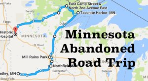 Take A Thrilling Road Trip To The 9 Most Abandoned Places In Minnesota