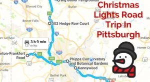 The Christmas Lights Road Trip Around Pittsburgh That's Nothing Short Of Magical
