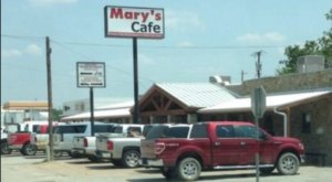 One Of The Most Popular Restaurants In Texas, Mary's Cafe Serves Some Of The Best Chicken Fried Steak Around