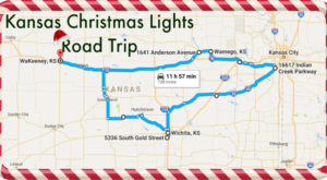 The Christmas Lights Road Trip Through Kansas That's Nothing Short Of Magical
