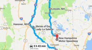 The Christmas Lights Road Trip Through New Hampshire That's Nothing Short Of Magical