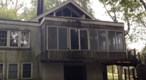 The Abandoned House From The 1940s That's Perfectly Preserved