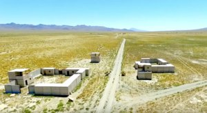 A U.S. Military Training Site Has Been Left To Decay In The Middle Of The Nevada Desert