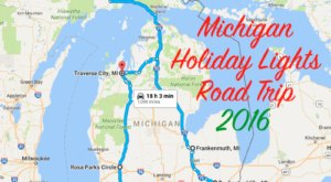 The Christmas Lights Road Trip Through Michigan That's Nothing Short Of Magical