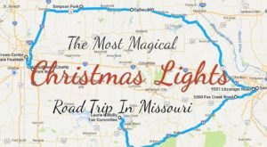 The Christmas Lights Road Trip Through Missouri That's Nothing Short Of Magical