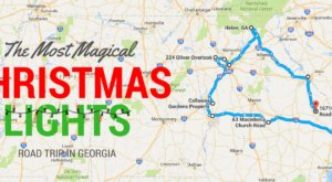 The Christmas Lights Road Trip Through Georgia That Will Take You To 9 Magical Displays