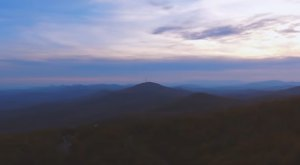A Drone Flew Over The Blue Ridge Parkway In North Carolina And Captured Mesmerizing Footage