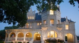 Spending A Night In This Majestic Texas Castle Will Make You Feel Like Royalty