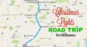The Christmas Lights Road Trip Through Alabama That's Nothing Short Of Magical