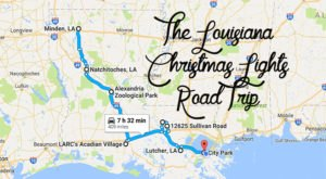 The Christmas Lights Road Trip Through Louisiana That Will Take You To 8 Magical Displays