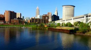 What This Drone Footage Caught In Cleveland Will Drop Your Jaw