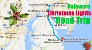 The Christmas Lights Road Trip Through Delaware That Will Take You To 9 Magical Displays