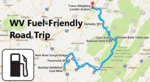 10 Amazing Places You Can Go On One Tank Of Gas In West Virginia