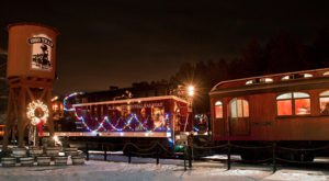 The Magical Polar Express Train Ride in South Dakota Everyone Should Experience At Least Once
