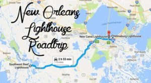 The Lighthouse Road Trip On The New Orleans Coast That's Dreamily Beautiful