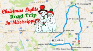 The Christmas Lights Road Trip Through Mississippi That's Nothing Short Of Magical