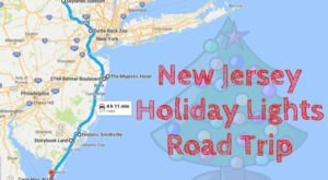 The Christmas Lights Road Trip Through New Jersey That Will Take You To 7 Magical Displays