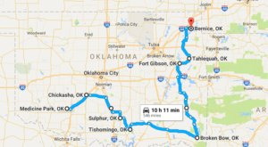 Take This Road Trip Through Oklahoma's Most Picturesque Small Towns For A Charming Experience
