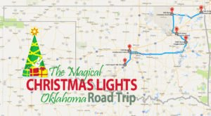 The Christmas Lights Road Trip Through Oklahoma That Will Take You To 6 Magical Displays