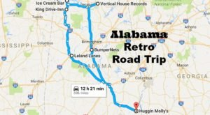 The Retro Road Trip That Will Lead You To The Most Nostalgic Places In Alabama