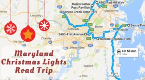 The Christmas Lights Road Trip Through Maryland That's Nothing Short Of Magical