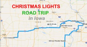 The Christmas Lights Road Trip Through Iowa That's Nothing Short Of Magical