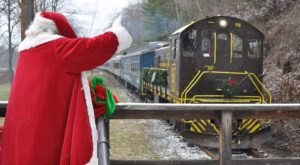 The Santa Train Ride Near Pittsburgh Everyone Should Experience At Least Once