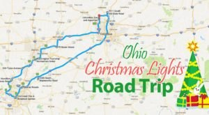 The Christmas Lights Road Trip Through Ohio That Will Take You To 9 Magical Displays