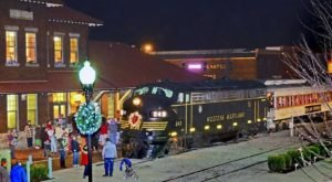 Enjoy A Magical Polar Express Train Ride Aboard Durbin & Greenbrier Valley Railroad In West Virginia