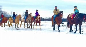 The Winter Horseback Riding Trail At Kurtz Corral In Wisconsin Is Pure Magic