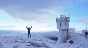 Summit New Hampshire's Tallest Mountain Despite The Winter Freeze On This Thrilling Tour