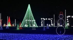 11 More Christmas Light Displays In Ohio That Are Positively Enchanting