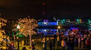 Chesapeake City Turns Into A Winter Wonderland Each Year In Maryland