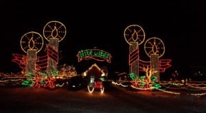 8 More Christmas Light Displays In Michigan That Are Positively Enchanting